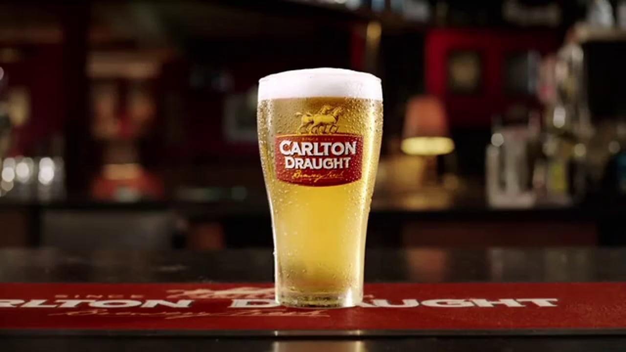 Самая большая реклама в мире: Carlton Draught
