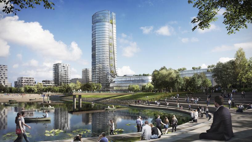 Новый проект Foster and Partners – самое высокое здание в Будапеште