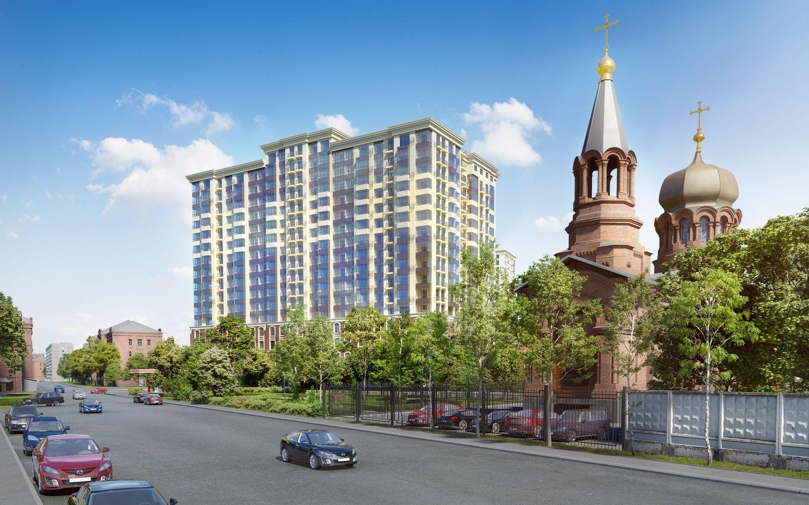 Новые масштабные визуализации для жилого комплекса на севере Москвы